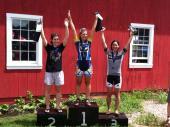 Kristin's podium!