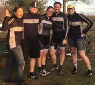 "TMT survives #iceweasels 2015 (more like ""Nice Weasels"" with that weather eh?)"